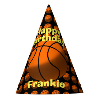 Basketball Paper Hats