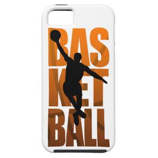 Basketball Player Basketballer Jumping Tough iPhone 5 Case