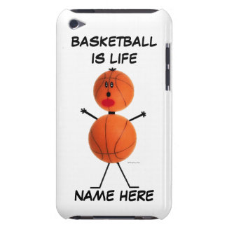 Basketball Player Cartoon Barely There iPod Cover
