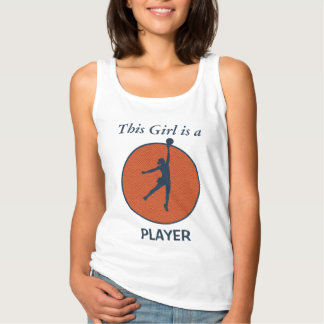 Basketball Player Girl Singlet