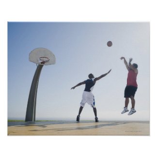 Basketball players 3 poster