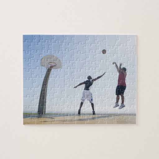 Basketball players 3 puzzles