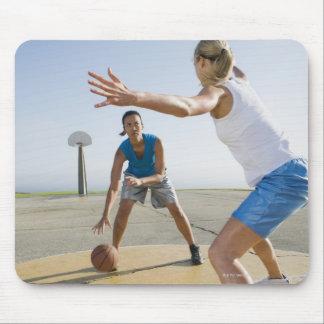 Basketball players 6 mouse pad