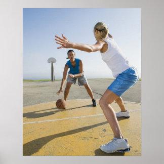 Basketball players 6 poster