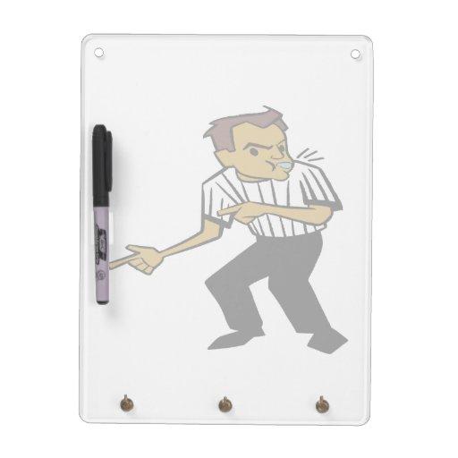 Basketball Referee Dry-Erase Whiteboard