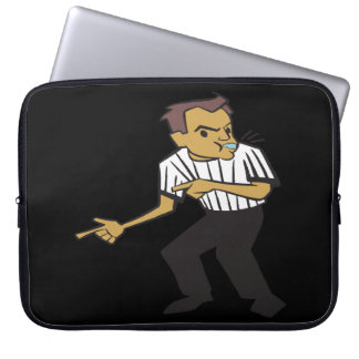 Basketball Referee Laptop Sleeve