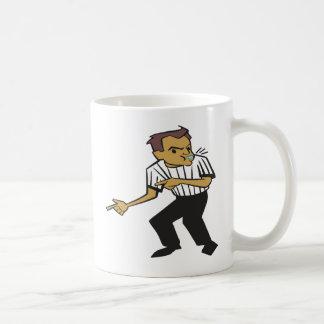 Basketball Referee Basic White Mug