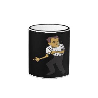 Basketball Referee Ringer Mug