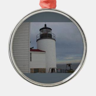 Bass Harbor Head Lighthouse Christmas Ornament