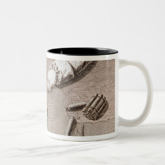 Basse-Lisse technique at the Gobelins tapestry Two-Tone Coffee Mug