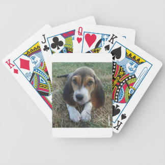 Basset Artésien Normand Puppy Dog Bicycle Playing Cards