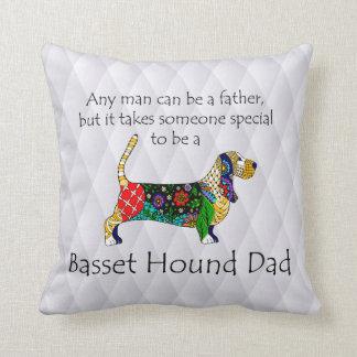 Basset Dad Pillow