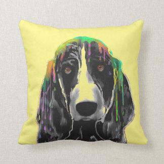 Basset Hound Cushion