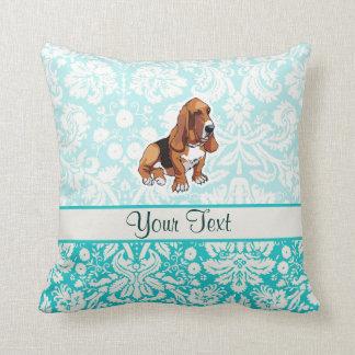 Basset Hound; Cute Cushion