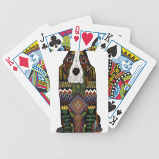 Basset Hound love Bicycle Playing Cards