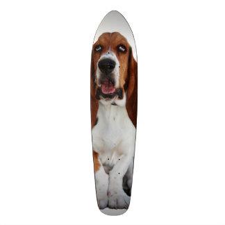 Basset Hound Picture Skateboard