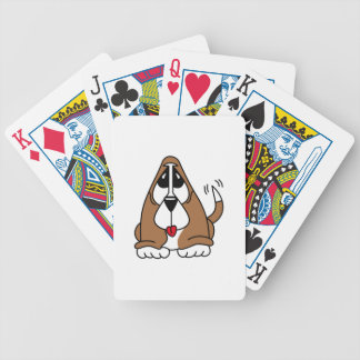Basset Hound Puppy Bicycle Playing Cards