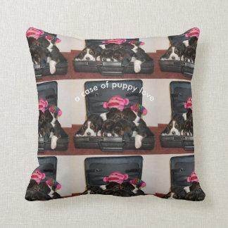 Basset hound puppy pillow
