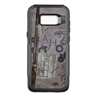 Bassoon Steampunk Fantasy with Custom Initials OtterBox Commuter Samsung Galaxy S8+ Case