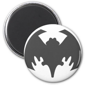 Bat Grey The MUSEUM Zazzle Gifts Refrigerator Magnets