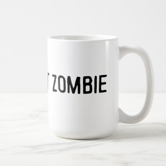 Bath Salt Zombie Mug! Basic White Mug