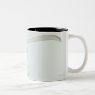 Bath salts and eye mask Two-Tone mug