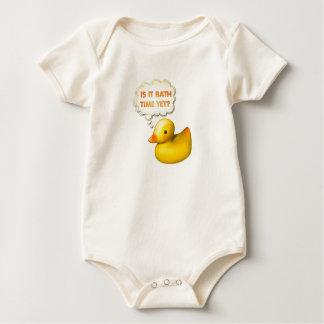 Bath Time Duck - Baby Bodysuit