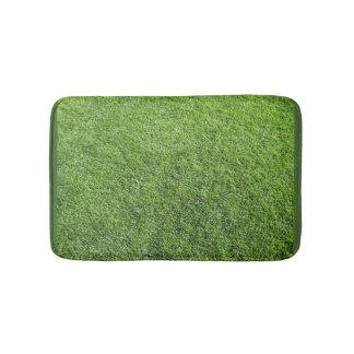 Bathmat with grass bath mats