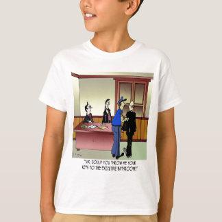 Bathroom Cartoon 8936 T-Shirt