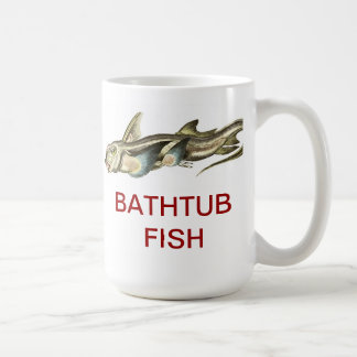 Bathtub Fish - Ceramic Mug
