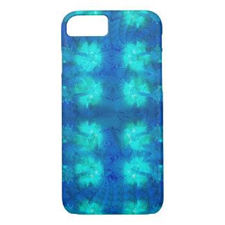 Batik Blue Hibiscus iPhone 8/7 Case