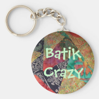 Batik Crazy Key Ring