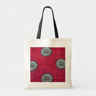 Batik design rpint on tote bag