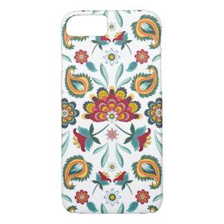 Batik Floral Boho Indonesian Style iPhone 8/7 Case