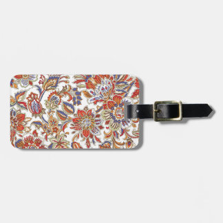 batik no.1 collection luggage tag