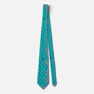 batik pattern tie