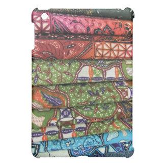Batik sarong patterns iPad mini cases