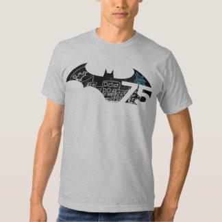 Batman 75 Logo - Chalkboard T-shirt