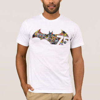 Batman 75 Logo - Comic Covers T-Shirt