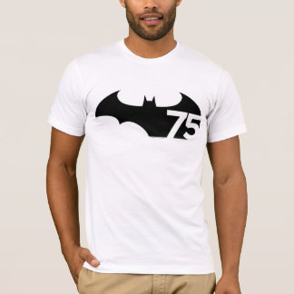 Batman 75 Logo T-Shirt