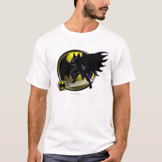 Batman and Circle Logo T-Shirt