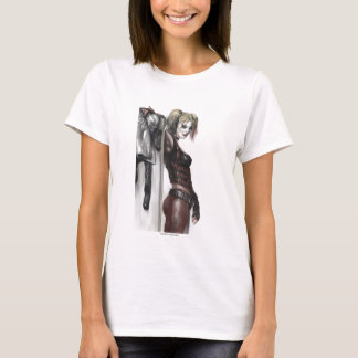 Batman Arkham City | Harley Quinn Illustration T-Shirt
