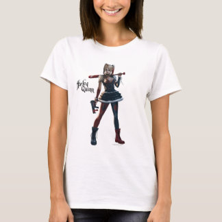 Batman Arkham Knight | Harley Quinn with Bat T-Shirt