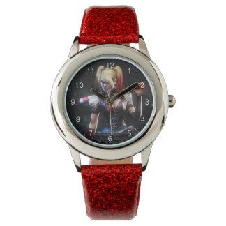Batman Arkham Knight | Harley Quinn with Bat Wristwatches