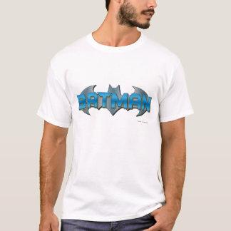 Batman | Blue Name Logo T-Shirt