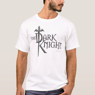 Batman Dark Knight | Name Brown Logo T-Shirt