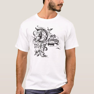 Batman Dark Knight | Ornate Logo T-Shirt