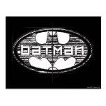 Batman Draught   Logo Postcard