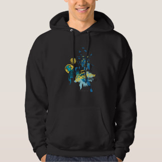 Batman Gotham Guardian Notebook Sketch Hoodie