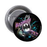 Batman Gotham Skyline Sketch 6 Cm Round Badge